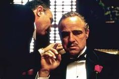 The Godfather Movie Vito Corleone  Great Are Not Born Great ... They Grow Great  Marlon Brando 12 x 18 Inch Poster Unframed Rolled