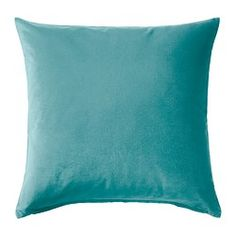 IKEA - SANELA, Cushion cover, Cotton velvet gives depth to the colour and… Room Of One's Own, Cotton Velvet, Freundlich, Hygge, Sweet Home, Cushions, Throw Pillows, Design, Houses