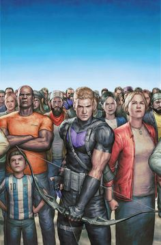 Trained by criminals, and inspired by heroes, Clint Barton has grown from a troubled youth into one of the greatest heroes on Earth. The world knows him best as Hawkeye: Earth's Mightiest Marksman.