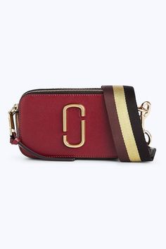 94e53293eea96 Marc Jacobs Snapshot Small Camera Bag in Deep Maroon Multi