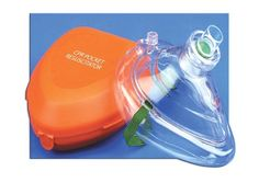 ADC Corporation - 14000A - CPR Pocket Mask W/Hard Case & One-Way Valve & O2 Inlet