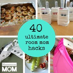 40 room mom hacks to make your role as room parent a little easier and a lot more fun!  #roomparent