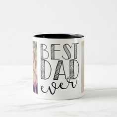 Best Dad Ever Mug Merry Christmas, Christmas Mugs, Christmas Card Holders, Christmas Ideas, Christmas Decor, Christmas Kitchen, Xmas Cards, Mug Papa, Dad Mug