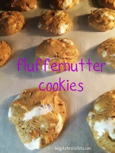 Fluffernutter Cookies (grain/gluten/dairy free, FODMAP-friendly, 5 ingredients, all normal & likely to be in your pantry.