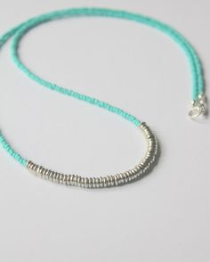 Layered Seed Bead Necklace Layering Necklaces by whiteliliedesigns, $21.00