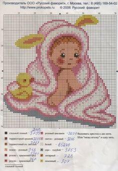 Bebê toalha