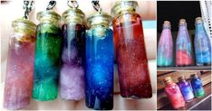 Do It Yourself - Create Your Own Nebula In A Bottle | Diply