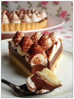 Vivi in cucina: Re-cake 2 : Cream , chocolate and salted caramel tart