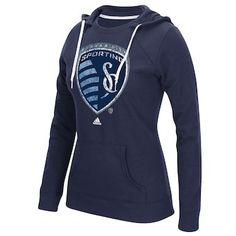 Adidas Mens Sporting Kansas City MLS 15 Draft Scarf Baby Blue One Size