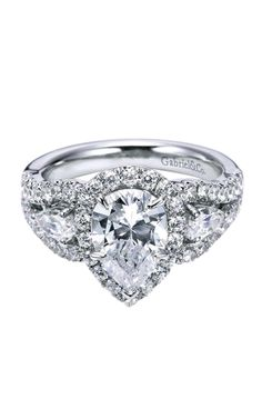 Click to Enlarge Pear Shaped Engagement Rings, Pear Diamond, Jewels, Jewerly, Gemstones, Fine Jewelry, Gem, Jewelery, Jewelry