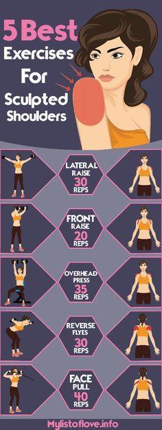 5 best exercises for sculpted shoulders