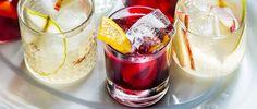 TT Drinks Editor Jim Meehan shares three easy summer sangria recipes using the season's best fruit. Spanish Cocktail Recipe, Spanish Cocktails, Sangria Recipes, Cocktail Recipes, Wine Recipes, Sparkling Sangria, Red Sangria, Summer Sangria, Summer Drinks