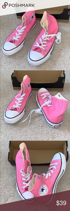 Converse Pearlescent Pink Chuck Taylor All Star Junior