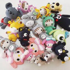 "1,888 Me gusta, 25 comentarios - crochet like (@crochet_like) en Instagram: ""BIG ORDER #amigurumiaddit #amigurumilove #amigurumi #amigurumis #gurumigram…"""