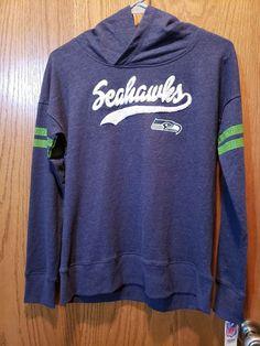 8ba982b1b NFL Team Apparel Girls Size Lg Seattle Seahawks Hooded Sweatshirt NWT   NFLTeamApparel  SeattleSeahawks Nfl