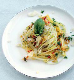 Chřestové aglio olio , Foto: V hlavní roli chřest