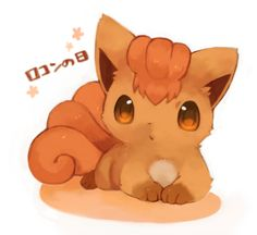 Little Vulpix, would get this for a tattoo anyday I even like fox pokemon Pokemon Pins, Cute Pokemon, Pokemon Go, Pikachu, Charmander, Kawaii, Chibi, Gatomon, Pokemon Pictures