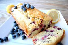 Blueberry lemon bread. Have made this once and it was really good! The other day I used it as a starting point and added Greek yogurt to the recipe and it was really nice as well. 4/5