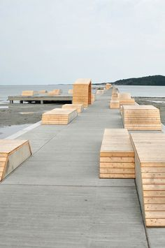 Bathing Pier Outside Gothenburg / Manofactory