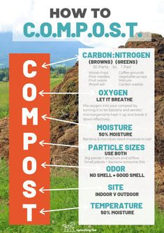 How To Start A Compost Pile (Traditional & Modern Methods) - Modern Composting Methods, Composting At Home, Worm Composting, Natural Farming, Organic Farming, Organic Gardening, Gardening Tips, Making A Compost Bin, Compost