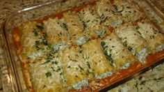 I made a variation of this, I added zucchini to mine and used less cheese. Good for dinner and freezer meals.