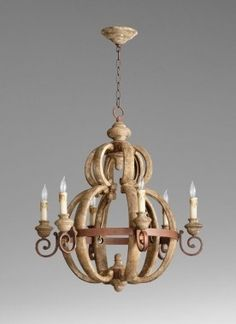 Buy the Cyan Design 05148 Sutherland Buff and Rust Direct. Shop for the Cyan Design 05148 Sutherland Buff and Rust Atocha 6 Light Chandelier and save. Coastal Chandelier, Rustic Chandelier, Chandelier Lighting, Cyan Lighting, Coastal Lighting, Room Lights, Ceiling Lights, Hanging Lights, Coastal Light Fixtures