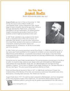 August Rodin   Printable Biography