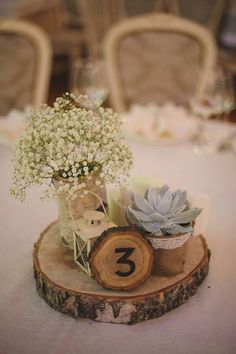 20 Budget-friendly Baby's Breath Wedding Centerpieces Succulent wedding table decorations mason jars 18 best ideas. Succulent Wedding Centerpieces, Wedding Table Centerpieces, Wedding Bouquets, Wedding Flowers, Wedding Decorations, Wedding Ideas, Table Wedding, Succulent Table Decor, Centerpiece Ideas
