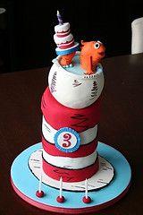 Dr. seuss cake!
