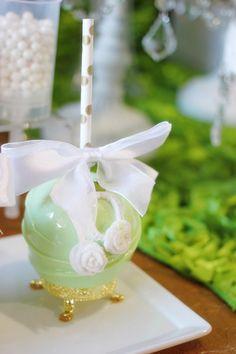 Vintage Gourmet Candy Apples-Lovely!! -Garden Wedding Inspiration- www.MadamPaloozaEmporium.com www.facebook.com/MadamPalooza