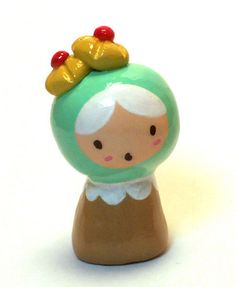 Cherry Shortbread Plini Figurine