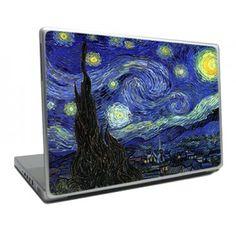 Van Gogh Starry Night Laptop Skin