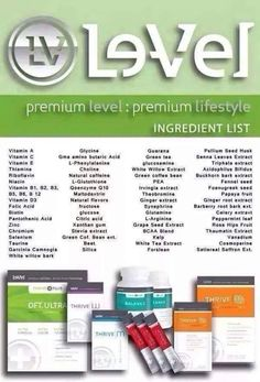 The THRIVE Experience is an premium lifestyle system, to help you experience peak physical and mental levels. 3 premium products taken every morning, that have changed millions of lives—THRIVE Experience. Thrive Ingredients, Thrive Life, Level Thrive, Thrive Energy, Thrive Le Vel, Thrive Experience, Appetite Control, Get Healthy, Honey