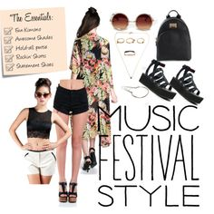Festival look #2 by zooshoo on Polyvore featuring ZooShoo, Y.R.U., Michael Kors, contestentry, musicfestivalstyle and zooshoo