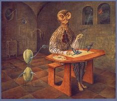 Alice Rahon, Arte Latina, Valley Of The Moon, Spanish Art, Hieronymus Bosch, Rene Magritte, Art Database, National Museum, Birds