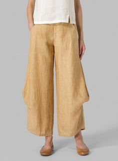 ab27b83245eed Linen Flared Leg Pants Miss Me Outfits