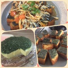 Singapore Home Cooks: Homemade Chinese Spinach Tofu by Esther Khoo Chai   Ingredient Soya milk ( sugarless) 1 litres Eggs 8 Chinese spinach ( slice thinly) 100g  Pinch of salt Cornflour 18g