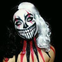 Ideas de maquillaje para Halloween Jester Makeup, Scary Clown Makeup, Halloween Makeup Clown, Amazing Halloween Makeup, Scary Clowns, Halloween Makeup Looks, Up Halloween, Halloween Photos, Sfx Makeup