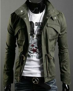 Type:Winter Jacket, Coat Age Group: Adults, Teenagers Material: Polyester,Cotton Fabric Type:Canvas Gender: Men, Women Style: Military Jacket Feature: Brea