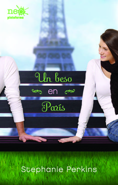 """""""Un beso en París"""" de Stephanie Perkins. Ficha elaborada por Silvia Hernández."""