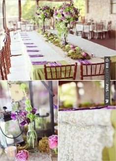 Romantical, whimsical themed wedding. Colors are perfect.