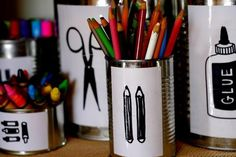 DIY Ideas: Kids' Arts & Craft Organization - Cheeky Kitchen shared the organization of their pantry, which includes a shelf for arts and crafts, - Arts And Crafts For Adults, Arts And Crafts House, Easy Arts And Crafts, Crafts For Girls, New Crafts, Arts And Crafts Projects, Kids Crafts, Simple Crafts, Kids Diy