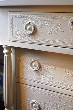 Sweet Distressed Cottage Chic Embossed by Daniscustomdesigns ...