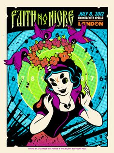 The Faith No More posters are amazing this year!
