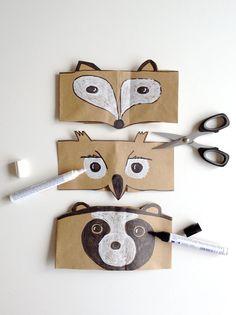 DIY Forest Friends Headband for Kids // via Handmade Charlotte #kids #crafts