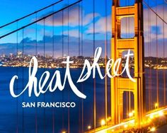 Where to stay and things to do in SF! Fun for a weekend getaway :)