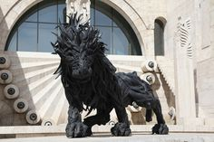 Korean artist Yong Ho Ji recycles old tires and turns them into incredible works of art. From animals to humans and even animal/human hybrids these tire sculptures are truly amazing. Yong Ho...