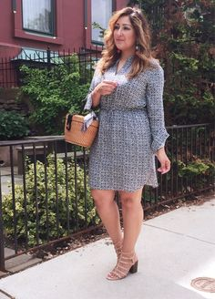 Shirtdress style for