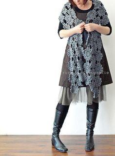 rosa p.   crochet shawl