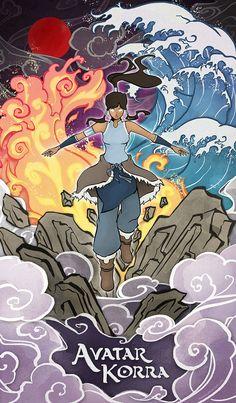 Avatar Korra by Niwuka